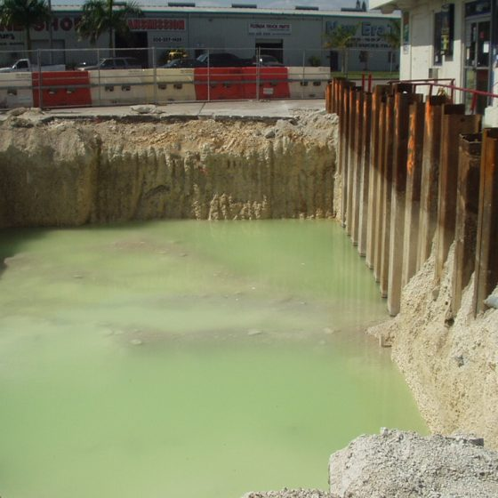 Toxic groundwater
